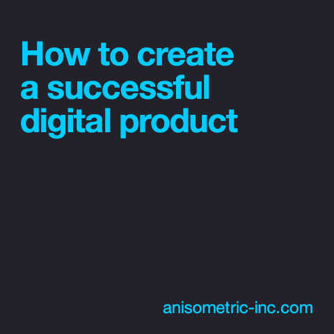 Successful digital product