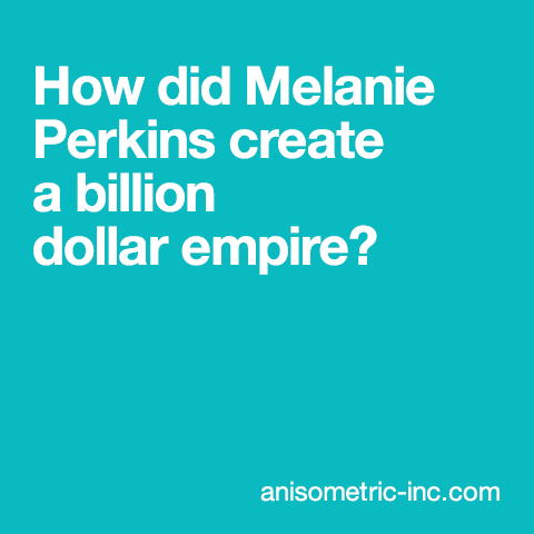 Melanie Perkins billion dollar feature image